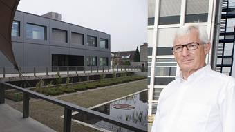 «Getrübte Zusammenarbeit mit kantonalen Stellen»: Ueli Meyer, der Rektor der Berufsschule Aarau. (Archivbilder)