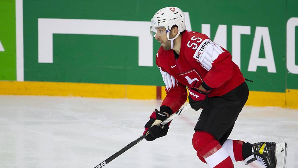 Romain Loeffel nahm mit der Schweiz an vier WMs und einmal an Olympischen Spielen teil.