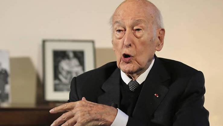 Der ehemalige französische Staatspräsident Valéry Giscard d'Estaing hat sich bis zuletzt politisch geäussert.