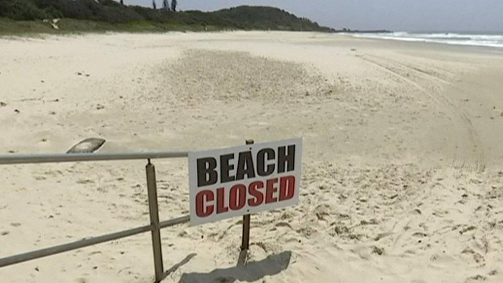 Der Strand Seven Mile Beach nahe der südaustralischen Stadt Gerra wurde nach dem Haiangriff geschlossen. (Symbolbild)