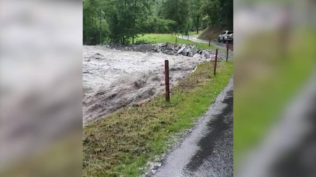 Feuerprobe: Hochwasserschutz im Weisstannental bewährt sich
