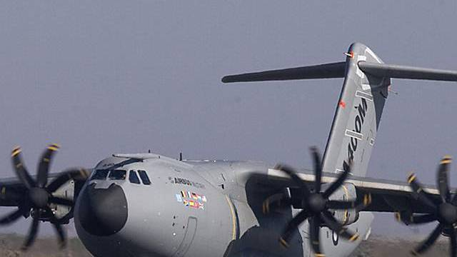 Die Finanzierung des Airbus A400M ist geklärt (Archiv)