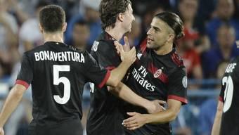 Ricardo Rodriguez glänzt beim Pflichtspiel-Debüt für Milan mit einem Freistosstor