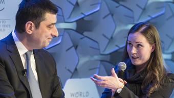 Bilder vom WEF 2020