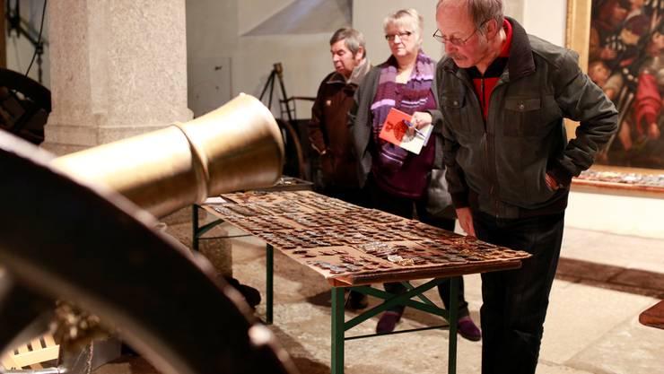 Bronzeguss gabs im Zeughaus ausnahmsweise nicht nur bei Kanonenläufen.