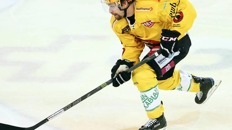 Simon Moser ist neuer Captain des SC Bern