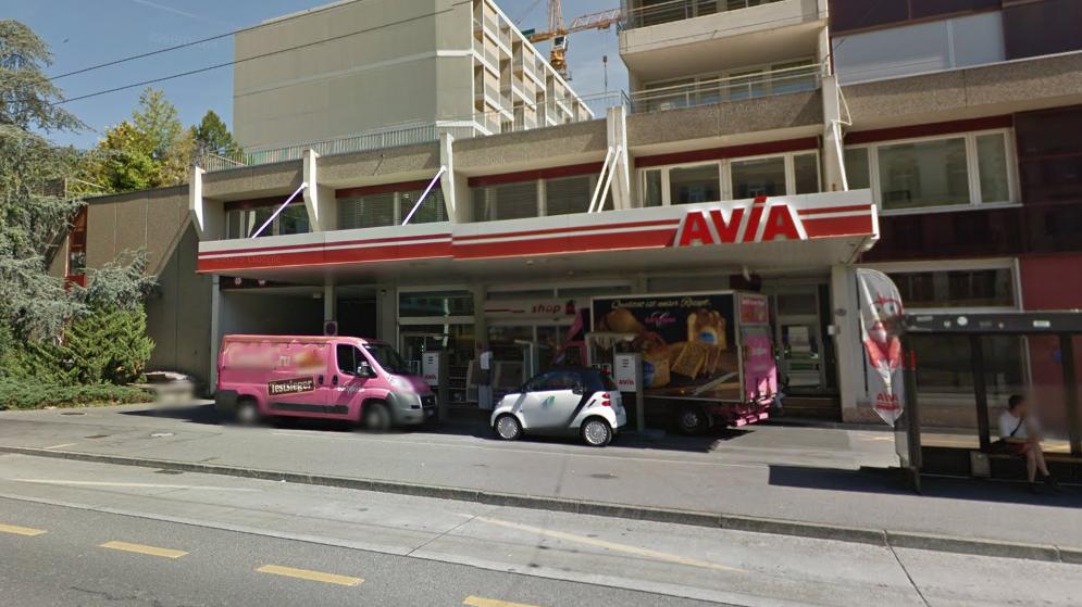Überfall auf Tankstelle in Luzern