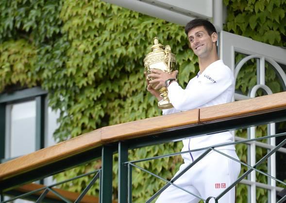 Djokovic gewinnt zum dritten Mal in Wimbledon.
