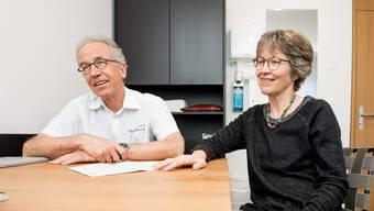 Katharina und Christoph Cina haben sich stark dafür eingesetzt, dass es in Messen und damit  im Bucheggberg weiterhin eine medizinische Versorgung vor Ort gibt.