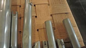 Die Pfeifen der Orgel sind verbogen und müssen ausgetauscht werden. Facebook/Bernhard Hörler