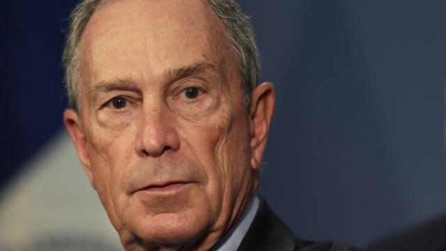 Michael Bloomberg, als er noch New Yorks Bürgermeister war