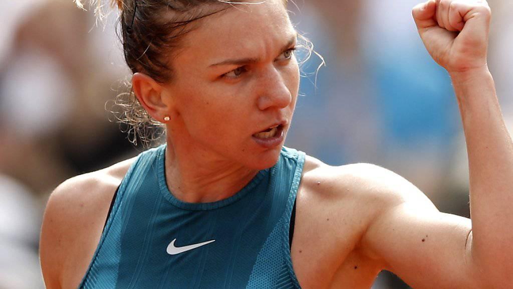 Lohn für einen starken Auftritt: Simona Halep holte in Paris ihren ersten Grand-Slam-Titel