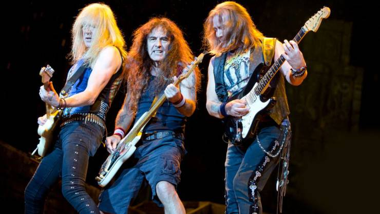 Die Heavy-Metal-Musiker von Iron Maiden bewiesen bei ihrem Auftritt am Freitag in Luzern, dass sie noch nicht zum alten Eisen gehören.