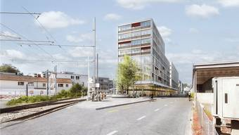 Das Neubau-Projekt WSB-Bahnhof.