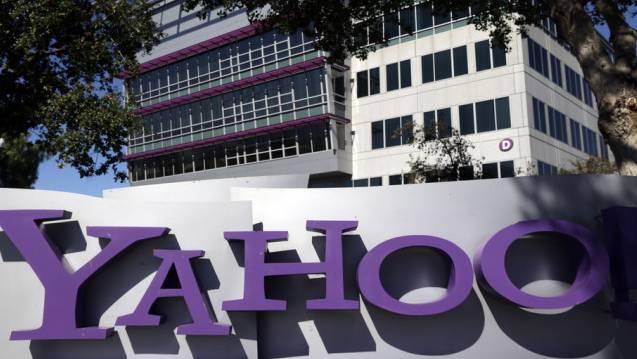 Hauptquartier von Yahoo in Sunnyvale, Kalifornien