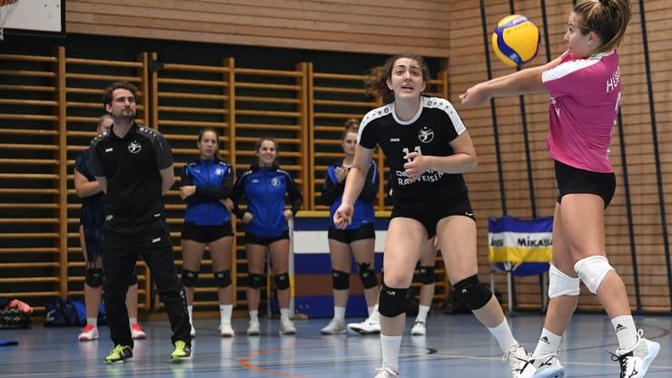 Die Volleyballerinnen von Kanti Baden kassierten die vierte Niederlage in Serie