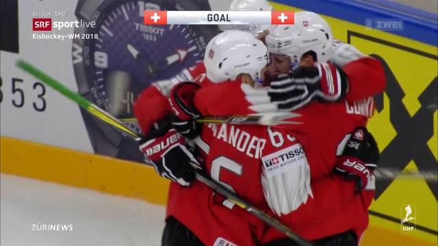 Schweizer Eishockey-Nati besteht nur haarscharf WM-Auftakt