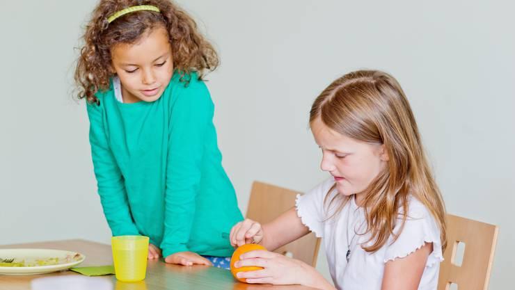 Eltern sind froh, wenn ihre Kinder auch ausserhalb des Unterrichts betreut werden.