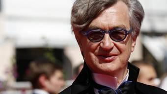 Der deutsche Regisseur Wim Wenders ain Cannes