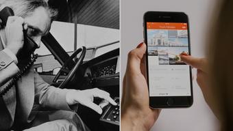 Vom klobigen Autotelefon zum digitalen Alleskönner.