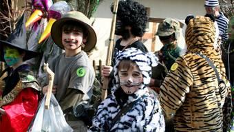 Die Kinder geniessen die einzigartige Stimmung in Stilli.