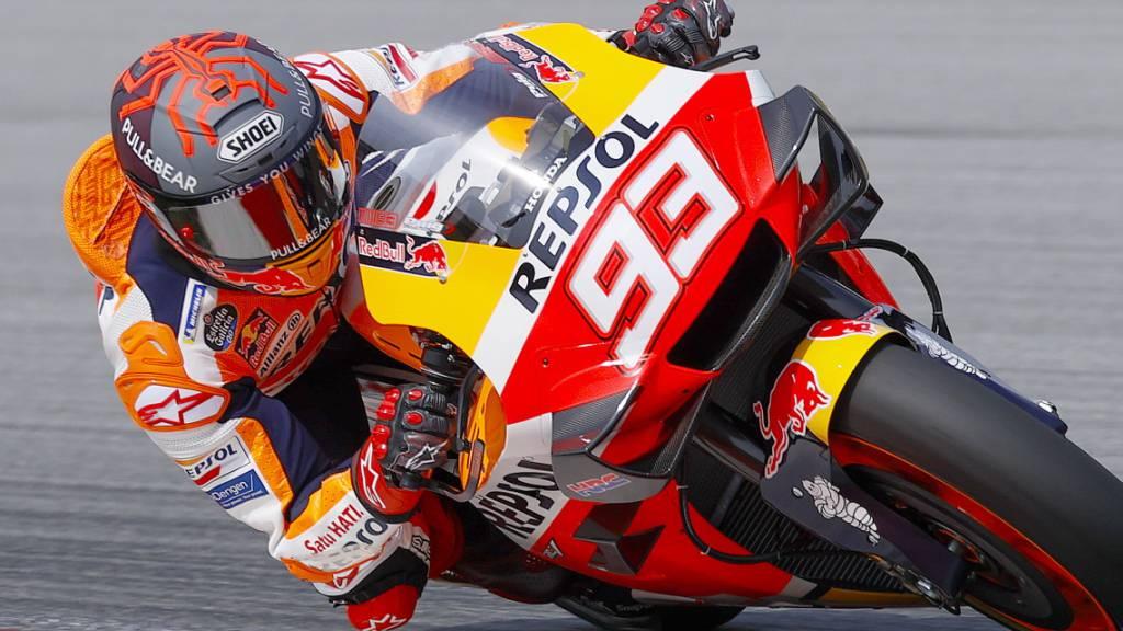 Marc Marquez muss weiter auf seine Rückkehr auf die Rennstrecke warten