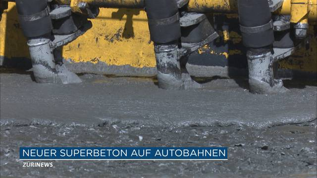 Neuer «Superbeton» mischt Schweizer Strassen auf