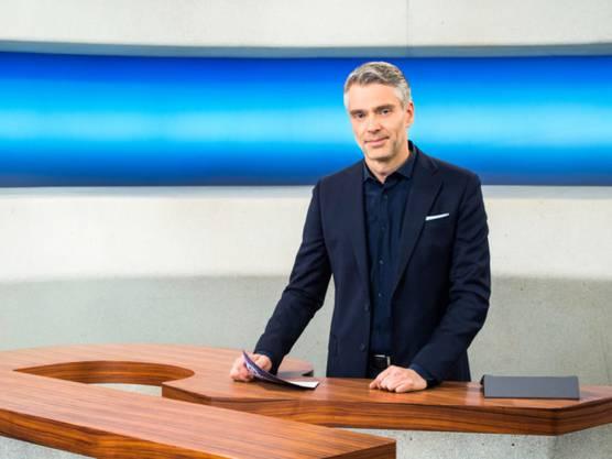 Sandro Brotz moderiert bei SRF seit Sommer 2012 die «Rundschau»