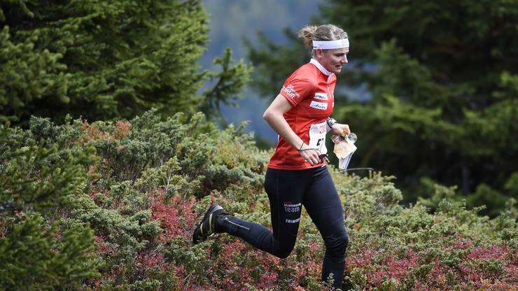 Gewinnt mit ihrem Team die Silbermedaille: Sabine Hauswirt.