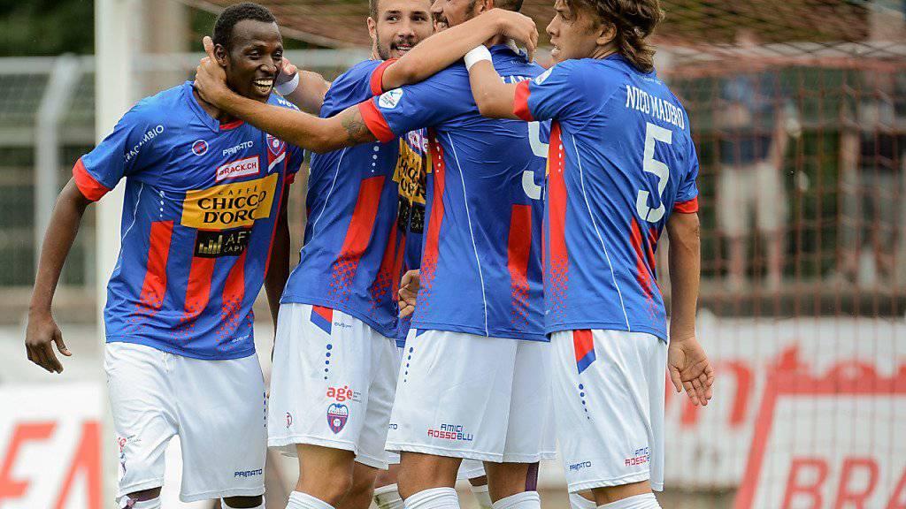 Der FC Chiasso steht vor einer herausfordernden Saison in der Challenge League (Archivbild)