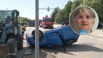 Noch immer ist unklar, welcher der beiden Rentner über Rot gefahren ist. Die Frau des Verletzten sagt, ihr Mann habe Grün gehabt.