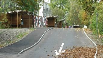 Strichplatz in Zürich Altstetten: durchschnittlich 14 Prostituierte arbeiten hier pro Nacht. mts