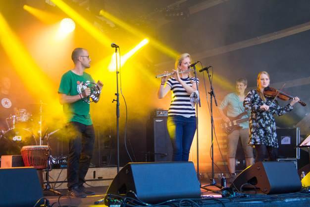 Zamba Loca '15 Pubside Down, Folk-Rockband 2