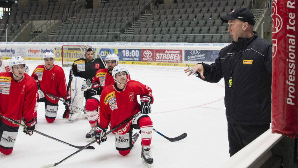 Zuletzt betreute John Fust das Schweizer Nationalteam