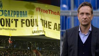 Schalke-Manager Horst Heldt findet Organisationen wie Greenpeace wichtig.