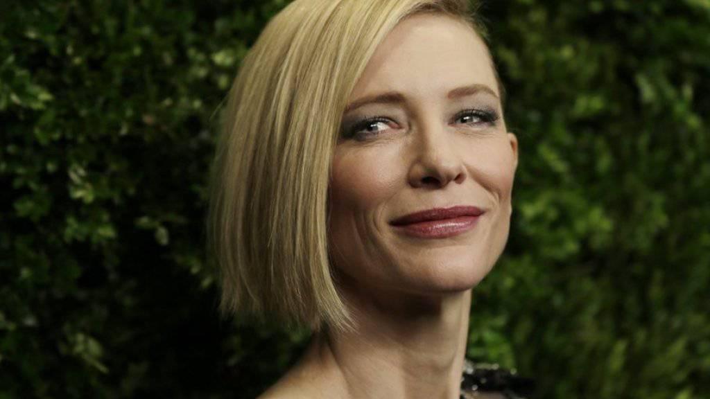 Ein Vorbild für alle: Cate Blanchett wurde für ihre schauspielerischen Leistungen und ihren «Mut zu Innovation und Risiko» ausgezeichnet.