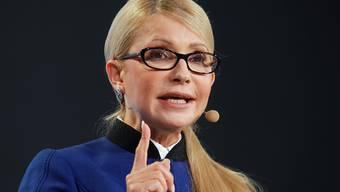 Julia Timoschenko hat offiziell ihre Kandidatur für die ukrainischen Präsidentschaftswahlen angekündigt. (Archivbild)