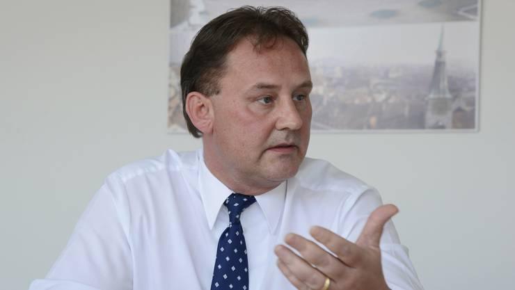 Thomas Blum, Geschäftsführer des Verbandes Solothurner Einwohnergemeinden (VSEG).
