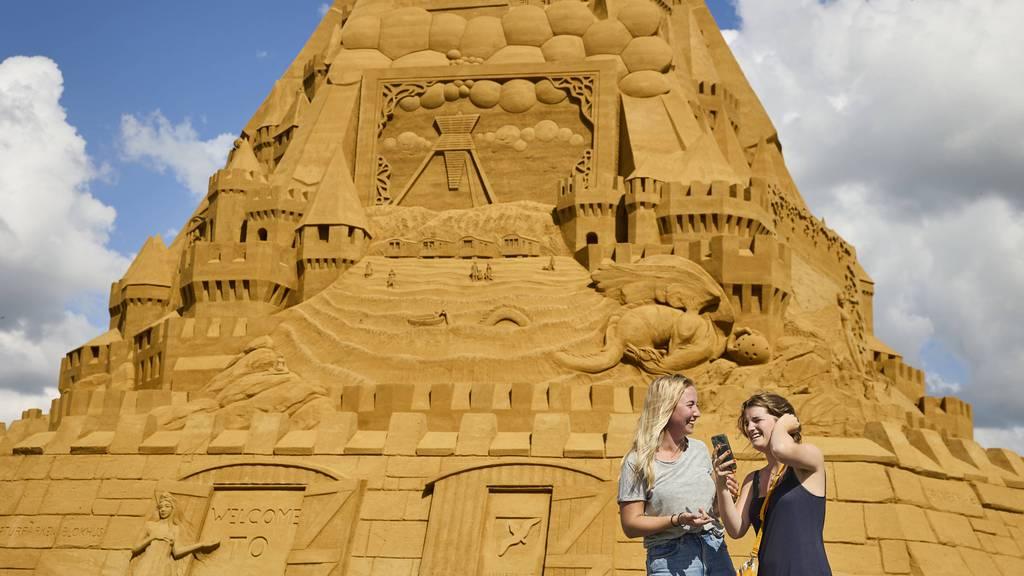 Das ist die grösste Sandburg der Welt