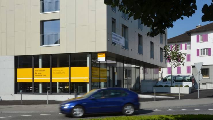 Die neue Post Sins beim Einhorn-Kreisel eröffnet am Montag.
