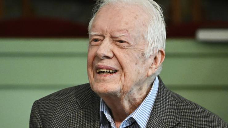 War von 1977 bis 1981 Präsident der Vereinigten Staaten: der Demokrat Jimmy Carter (95). (Archivbild)