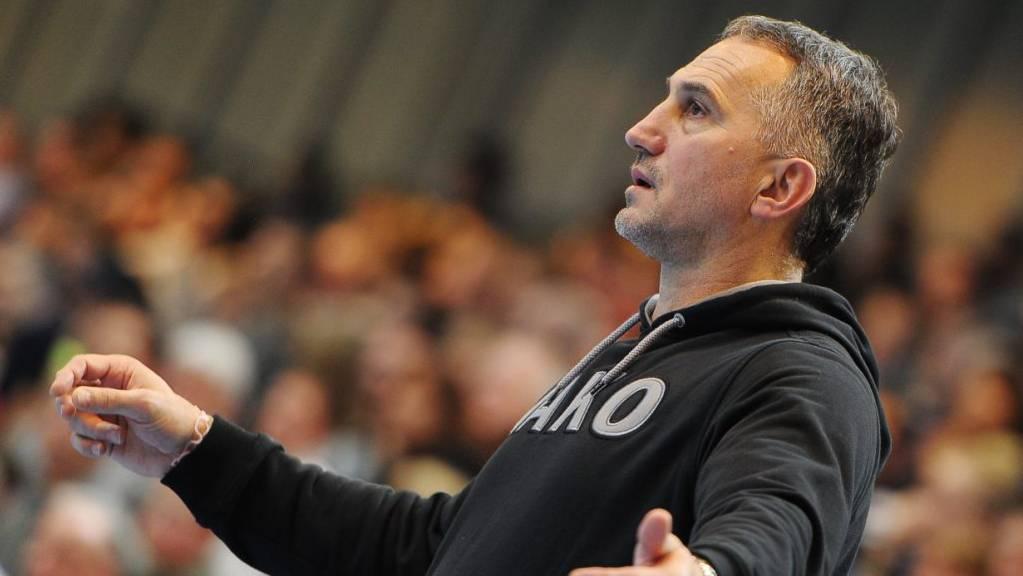 Trainer Goran Perkovac ist mit Kriens-Luzern noch verlustpunktlos