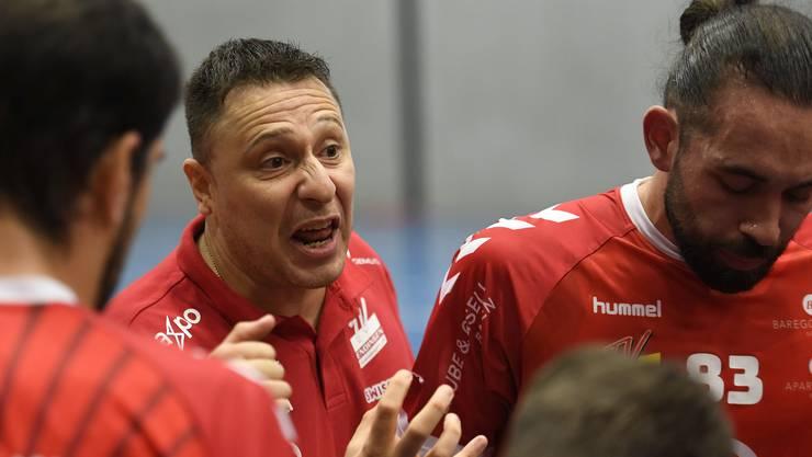 TVE-Trainer Zoltan Majeri und seine Mannschaft stehen nach der Quarantäne vor einer schwierigen Aufgabe.