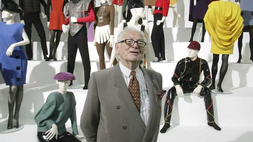 Private Trauerfeier für französischen Designer Pierre Cardin