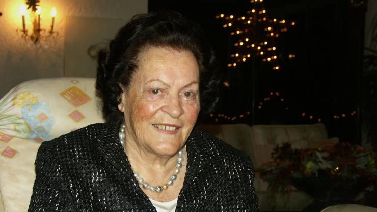 Annemarie Opprecht war fünffache Mutter, Unternehmersgattin und Wohltäterin für ihre Gemeinde Bergdietikon.