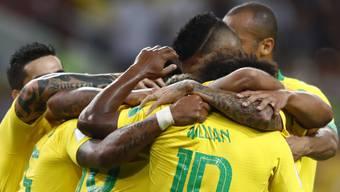 Impressionen zum Gruppenspiel Serbien - Brasilien