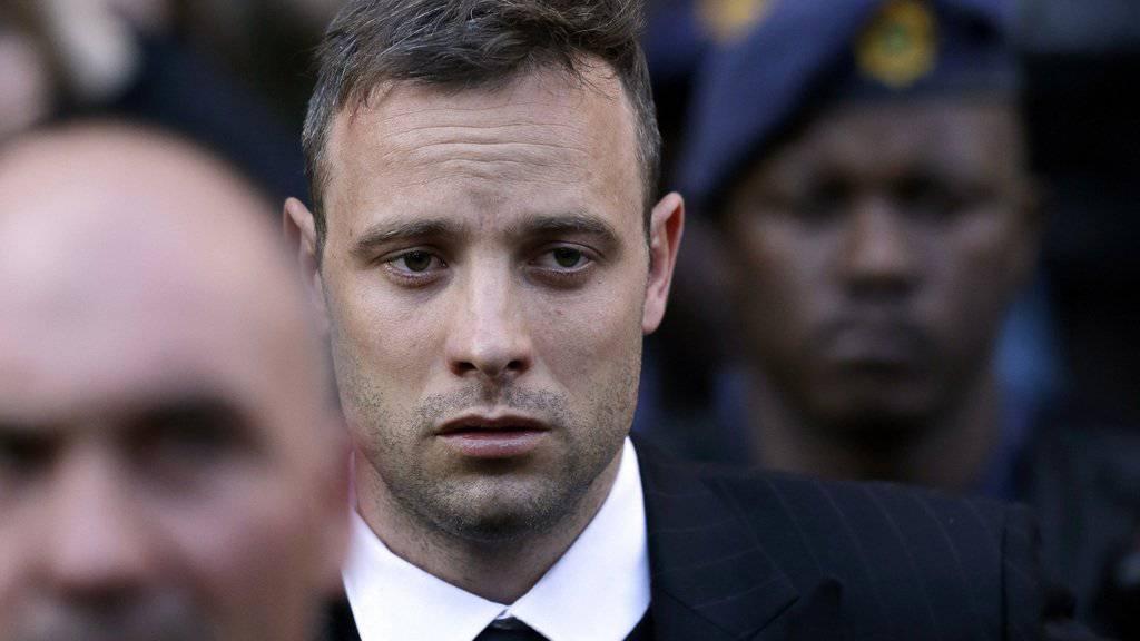 Weist den Vorwurf zurück, er habe Steenkamp vorsätzlich umgebracht: Der frühere Spitzensportler Oscar Pistorius. (Archiv)