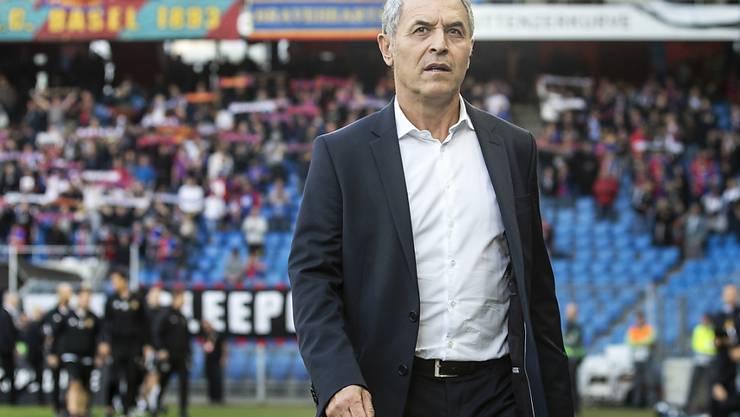 Welchen Wert hat dieses 5:0? Eine Antwort auf diese Frage erhält FCB-Coach Marcel Koller am Sonntag in Bern