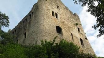 Soll aufwändig saniert werden, um den Zerfall zu verzögern: Ruine Homburg.