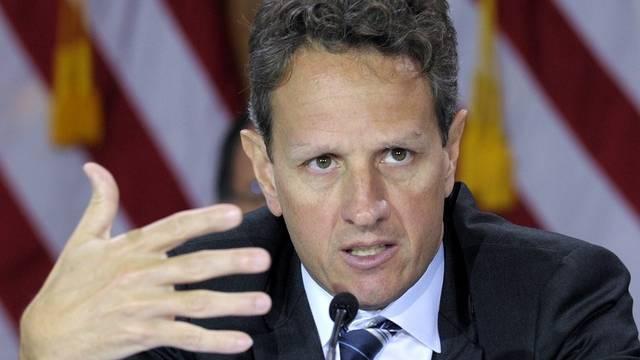 US-Finanzminister Geithner warnt, zu einem Staatsbankrott könne es bereits im Frühling kommen (Archiv)